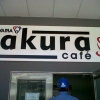 Photo taken at Sakura cafe by anam b. on 3/4/2013
