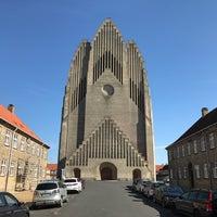Photo taken at Grundtvigs Kirke by Michael N. on 8/29/2017