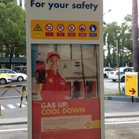 Photo taken at Shell Service Station by Paolo T. on 5/5/2013