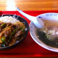 Photo taken at ラーメン亭 高原店 by な き. on 10/12/2012