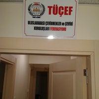 Photo taken at TUCEF Cevirmenler Federasyonu by A.VAROL on 10/8/2013