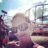 Photo taken at Coaster Thrill Ride - Washington State Fair by 💎Stacyrockswraps💎 on 9/21/2013