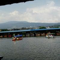 Photo taken at Floating Market Lembang by Patricia Veroniqa S. on 12/26/2015