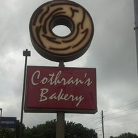 Photo taken at Cothran's Bakery by Brooke M. on 8/20/2013