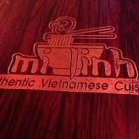 Photo taken at Mi Linh Authentic Vietnamese Cuisine by Jason M. on 11/16/2013