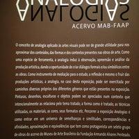 รูปภาพถ่ายที่ Museu de Arte Brasileira MAB-FAAP โดย Keller D. เมื่อ 8/29/2013