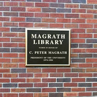Photo taken at Magrath Library by Jeff r. on 8/4/2014