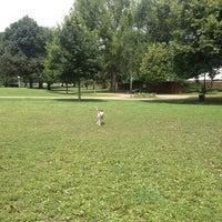 Photo taken at West Park Dog Park by Neva G. on 7/21/2014