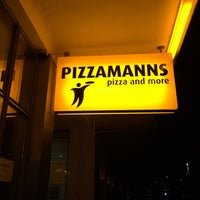 Photo taken at Pizzamanns by Hasenpaar ♛. on 12/24/2015
