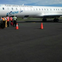 Photo taken at Tampa Padang Airport (MJU) by Edy P. on 2/17/2016