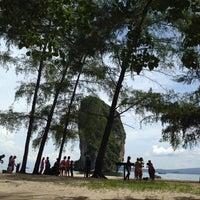 Photo taken at Poda Island by Kornveena D. on 5/27/2014