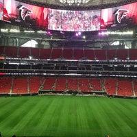 8/19/2017 tarihinde Denise M.ziyaretçi tarafından Mercedes-Benz Stadium'de çekilen fotoğraf
