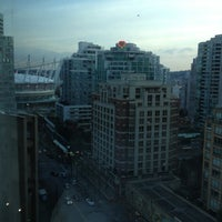 Photo taken at The Westin Grand, Vancouver by Megan P. on 2/2/2013