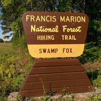 Photo taken at Swamp Fox Trail Head by Patrick (PLA) A. on 4/26/2014