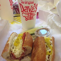 Photo taken at Dave's Cosmic Subs by T.J. S. on 9/8/2014
