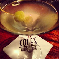 Photo taken at Cole's Chop House by T.J. S. on 10/28/2013