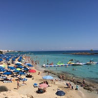 Photo taken at Fig Tree Bay by Michail S. on 6/22/2014