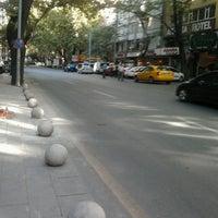 Photo taken at Necatibey Caddesi by Beliz Ö. on 9/14/2013