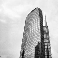 Photo taken at Unicredit Tower by Andrea L. on 4/28/2013