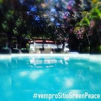 Photo taken at Sítio Green Peace - Pousada e Eventos by Sítio G. on 12/8/2016