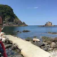 Photo taken at かえる島 by 学 今. on 8/25/2016