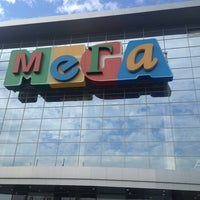 Photo taken at MEGA Mall by Саша Б. on 8/20/2013