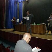 Photo taken at Una Montagna di Teatro by Una Montagna d. on 11/7/2013