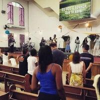 Photo taken at Igreja Batista Nova Filadélfia - Rocha Miranda by Dérick C. on 2/7/2015