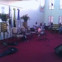 Photo taken at Igreja Batista Nova Filadélfia - Rocha Miranda by Dérick C. on 8/31/2013