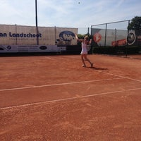 Photo taken at Tennisclub 't Lobbeke by Robby A. on 6/22/2014