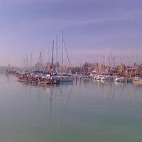 Photo taken at Balatonfüredi Yacht Club (BYC) by Miomir D. on 10/25/2013