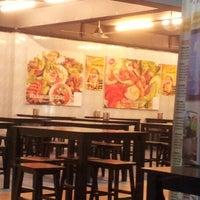 Photo taken at Restoran Ayam Penyet Jawa by Ease T. on 1/27/2013