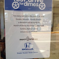 ... Photo Taken At Sterling McCall Honda By Michael L. F. On 5/21/2014