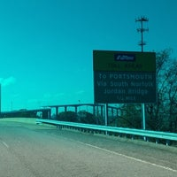 Photo taken at South Norfolk Jordan Bridge by Michael L. F. on 11/17/2012