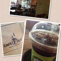Photo taken at Café Fan by 지혜 최. on 8/14/2013
