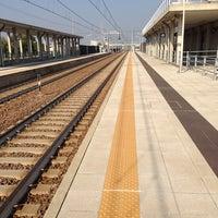 Photo taken at Stazione di Quattroville by Davide S. on 10/17/2013