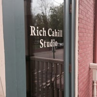 Photo taken at Rich Cahill Studio by Rob L. on 5/8/2014
