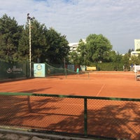 Photo taken at Tennis Club Albena by Olli on 7/24/2016