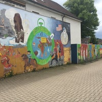 Photo taken at Ihmerter Grundschule by Olli on 6/15/2016