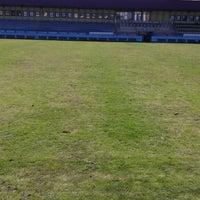 Photo taken at KTÜ Futbol Stadyumu by Ekrem Y. on 4/16/2015