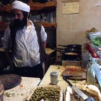 Photo taken at Lahuhe Original Yemanite Food Bar by Eli K. on 1/7/2014
