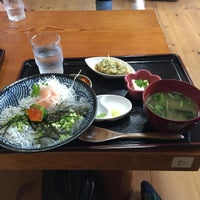Photo taken at しらす亭 by じぃーじ on 11/8/2015