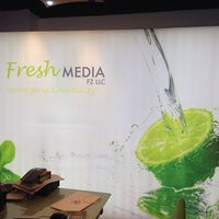 Photo taken at Fresh Media by Rebecca B. on 11/27/2013
