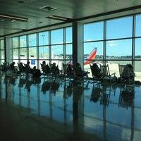 Photo taken at Boston Logan International Airport (BOS) by Gretchen L. on 8/15/2013