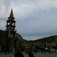 Photo taken at Station Mont Tremblant Resort by Kathy B. on 10/4/2013