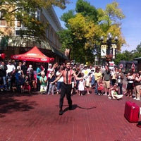Photo taken at Pearl Street Mall by Scott B. on 9/22/2012