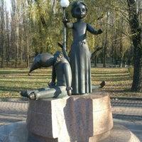 Photo taken at Памятник детям, расстрелянным в Бабьем Яру by rogozza on 11/9/2013