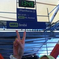 Photo taken at RapidKL Imbi (MR5) Monorail Station by Kiko Pika t. on 12/5/2012
