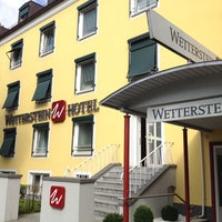 Photo taken at Hotel Wetterstein by Natasha M. on 7/16/2014