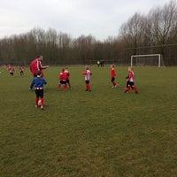 Photo taken at Voetbalvereniging DVV by Annemiek J. on 3/7/2015